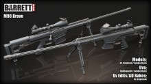 Barret M98B Project preview