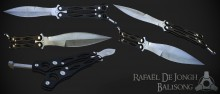 Balisong Texturing WiP preview