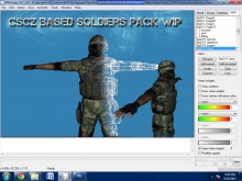 CSCZ Based Soldiers Pack Script preview