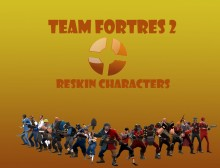 TF2 Characters Reskin WiP preview