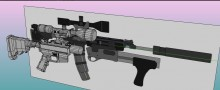 REC 7 rifle WIP1 Skin preview