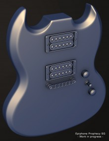 Epiphone Prophecy SG Project preview