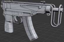 VZ-61 Scorpion Complete (finalizing) WiP preview