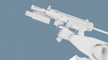 Black Mesa MP5 WiP preview