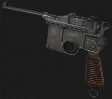 Mauser? I barely know her! Project preview