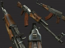 Mr Rifleman`s AKM WiP preview