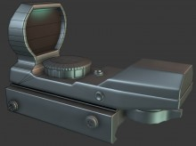 Red Dot Sight WiP preview