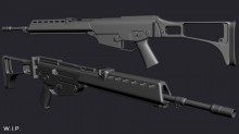 H&K G36 WiP preview