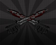 """Trench """"Double"""" Knife Skin preview"""