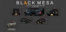 Black Mesa Security SUV Reskin Skin preview