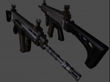Tenoyls CZ805 A1 & a2 with Troy Grip WiP preview