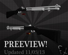 Mossberg 590 Updated! Skin preview