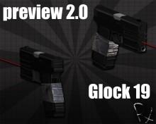 Glock 19 V2.0! Skin preview