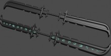 double sided sword Thread preview