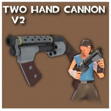 Two-Hand Cannon V2 WiP preview