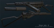 Texture for Seph's Sten Project preview