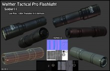 Walther Tactical Pro Flashlight WiP preview