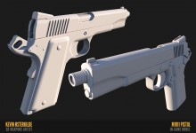 M1911 baked Project preview