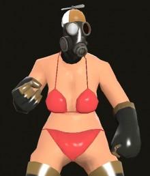 Femme Pyro Bikini Version Skin preview