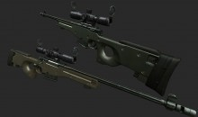 Broke`s L96 Textures WiP preview