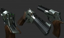 Mateba Unica 6 Texture. WiP preview