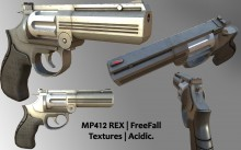 MP412 Texturing Skin preview