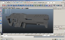C-14 'Impaler' Gauss Rifle WiP preview