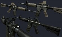 Texturing Millenia`s Superb M4A1 WiP preview