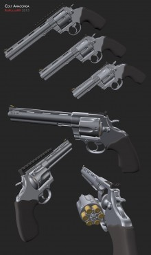 Colt Anaconda Model preview