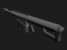 Custom Barrett, TF2 riflez Skin preview