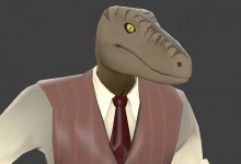 Stylish Raptor WiP preview