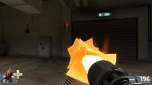 Tf2 Beta minigun muzzleflash restoration WiP screenshot
