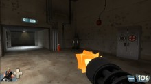 Tf2 Beta minigun muzzleflash restoration WiP screenshot #11