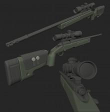 M40A3 - M40A5 Model preview