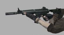 HK Carbine animation WiP preview