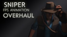 (WiP Version) Sniper FPS Animation Overhaul Skin preview