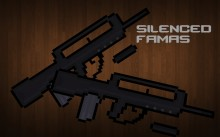 Silenced Famas Skin preview