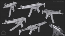 MP5 high Skin preview