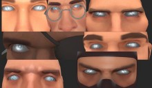 TF2 Class Logo Eyes Skin preview