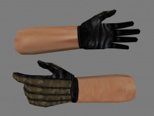 Comfy gloves + Two-tone variable progress Spray preview