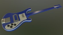 FLCL: Haruko's Bass WiP preview