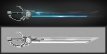Sci-Fi Sword (Timelapse) WiP preview