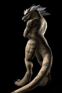 Zealous the Kingraptor Skin preview