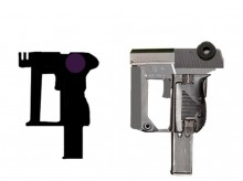 Rule of cool concept guns Model preview