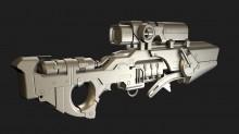 Sci-fi machinegun? WiP preview