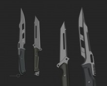Space Cutlery Model preview