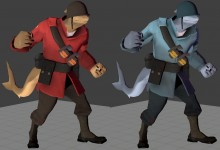 Shark Soldier Skin preview