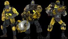 Australium MvM Bots v2 Skin preview