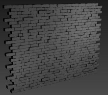 Brick wall Spray preview