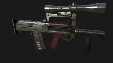 OTs-14 Groza WiP preview